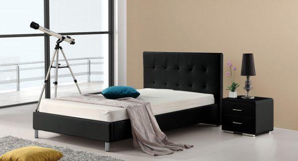 מיטה נוער SVEN שחור